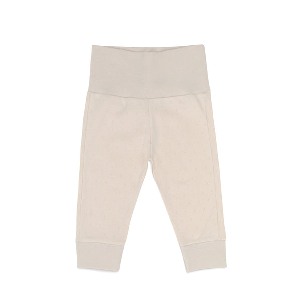 Phil and Phae Newborn leggings pointelle Oatmeal
