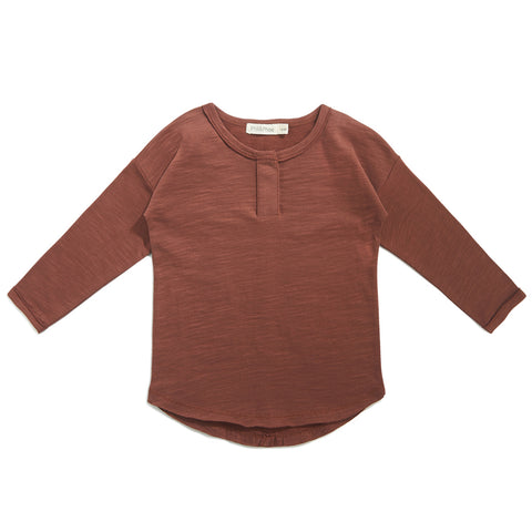 Phil & Phae Henley top Russet - Last one 18M