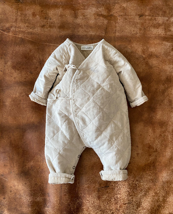 Co Label Baby Suit Eddie Corduroy Sand