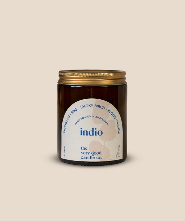 The Very Good Candle Company - INDIO - Rapeseed Candle Mid Size 170ml 45-50 Hours