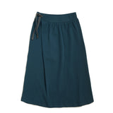 Phil and Phae Long Skirt Deep Teal