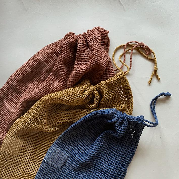 Haps Nordic 3-pack Mesh Bags Autumn Mix
