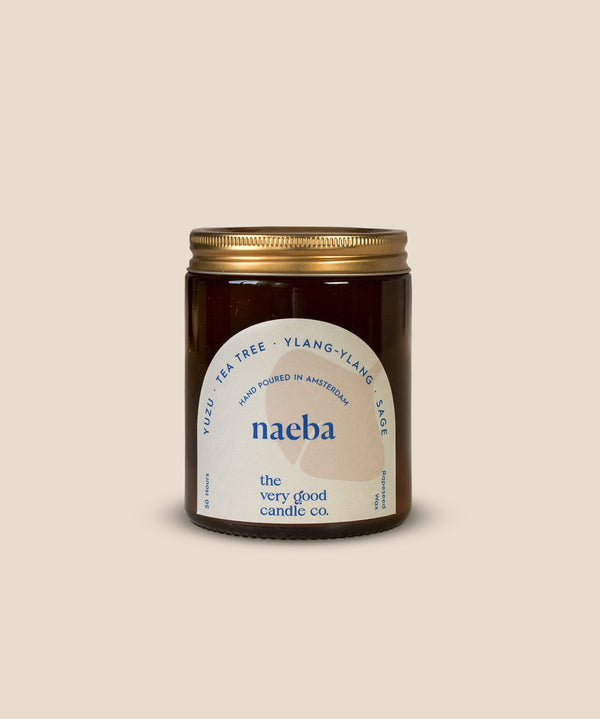The Very Good Candle Company - NAEBA - Rapeseed Candle Mid Size 170ml 45-50 Hours
