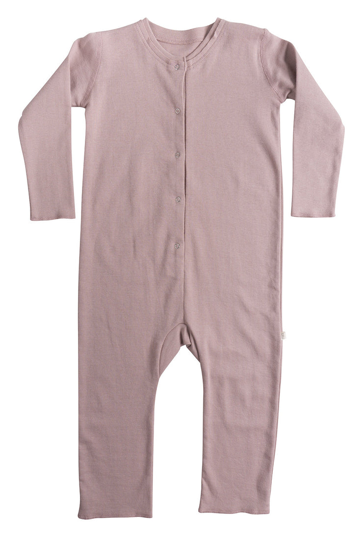 Minimalisma Noor Onesie Dusty Rose