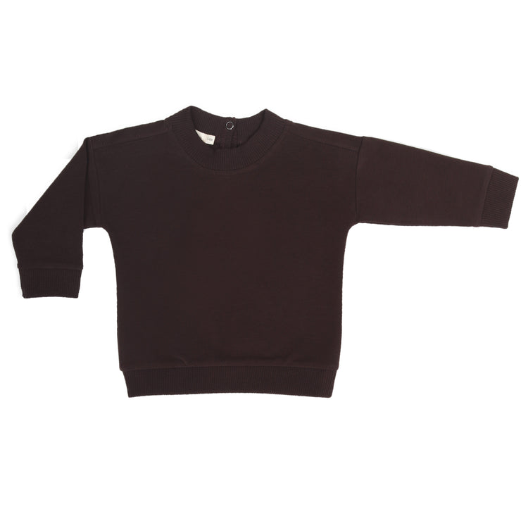 Phil & Phae Baby sweater Cacao Nib