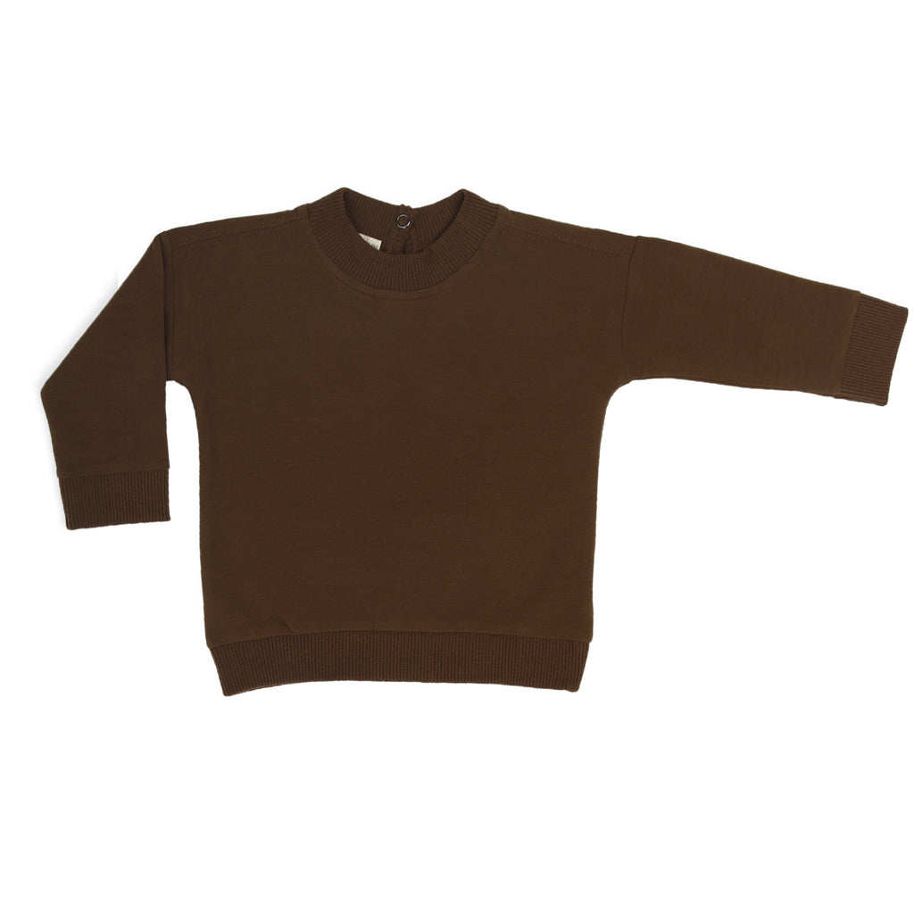 Phil & Phae Baby sweater Moss