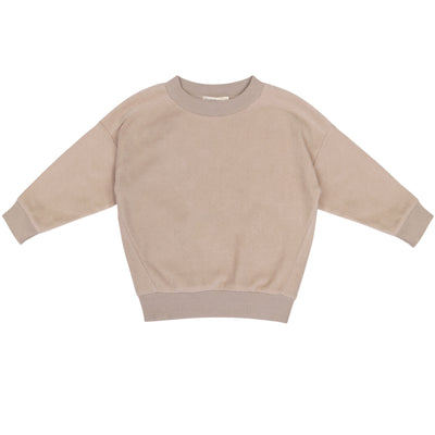 Phil & Phae Oversized teddy sweater Straw