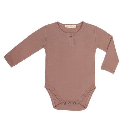 Phil & Phae Rib henley body l/s Powder