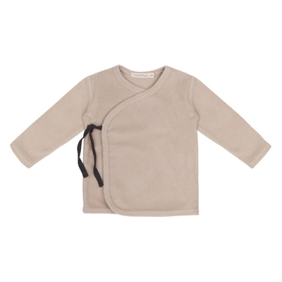 Phil & Phae Teddy Baby Cardigan Straw