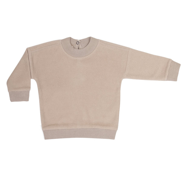 Phil & Phae Teddy baby sweater Straw