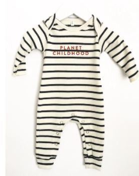 Organic Zoo Breton Playsuit Planet Childhood