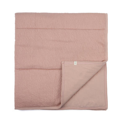 Phil and Phae Padded Baby Blanket Vintage Blush