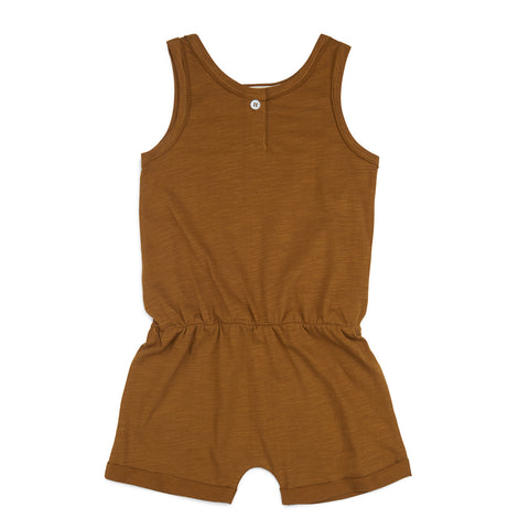 Phil and Phae Playsuit Gold Camomile