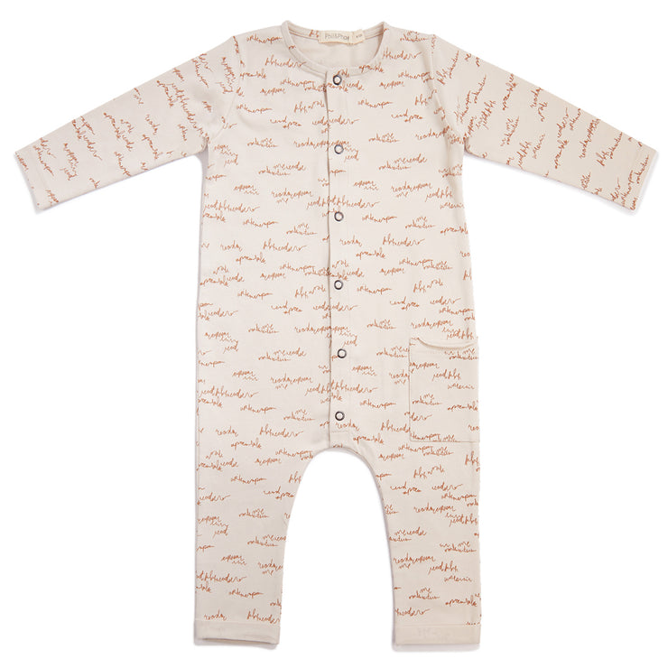 Phil and Phae One-pocket jumpsuit allover print - Last one 18M