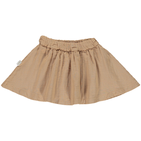 Poudre Organic Reine Skirt Indian Tan
