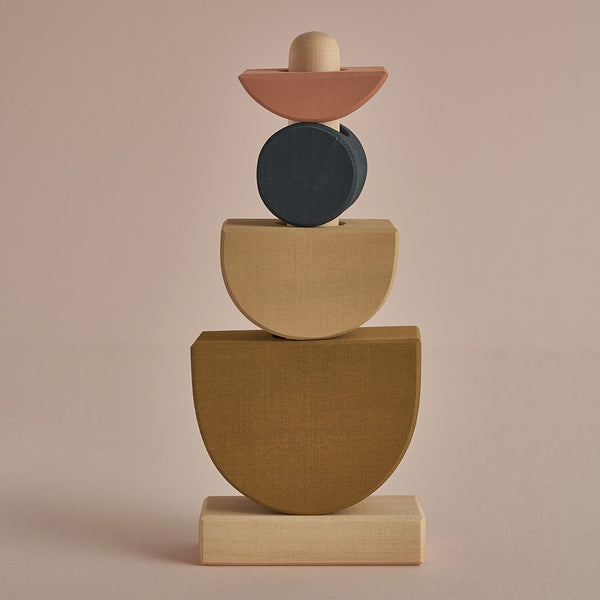 Raduga Grez Shapes stacking tower