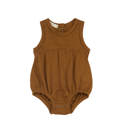 Phil and Phae Baby Rompersuit Gold Camomile