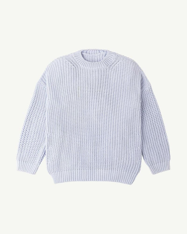 Summer and Storm Chunky Pullover Powder Blue