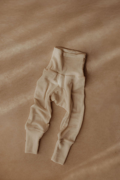 Cosilana Pants Wool/Silk (with feet)