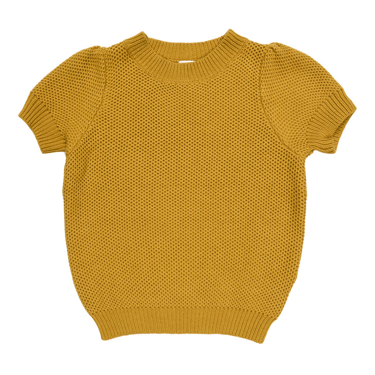 Maed for mini Golden Grasshopper Knit Top
