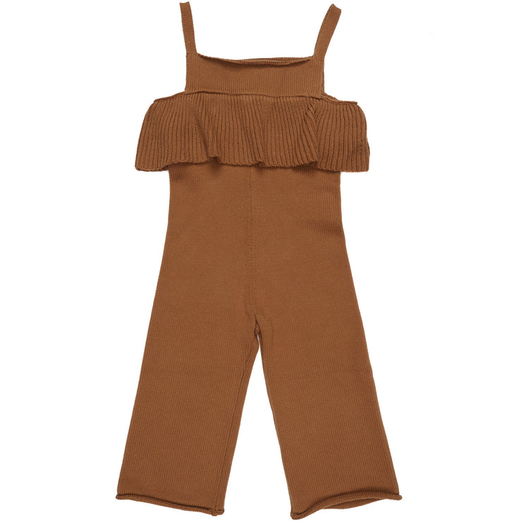 Maed for mini Busy Bear Knit Jumpsuit