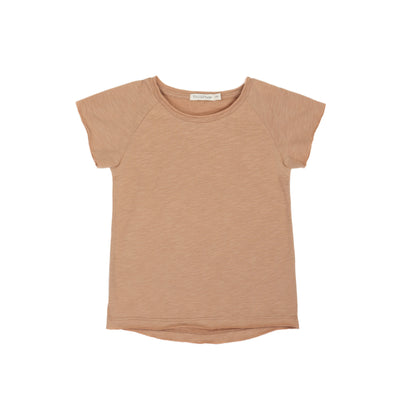 Phil and Phae Raglan Tee Sienna Sand - Last one 2Y