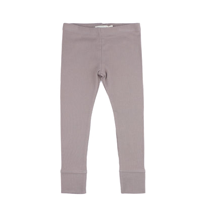 Phil and Phae Baby Rib Legging Haze Grey - Last one 6-12m
