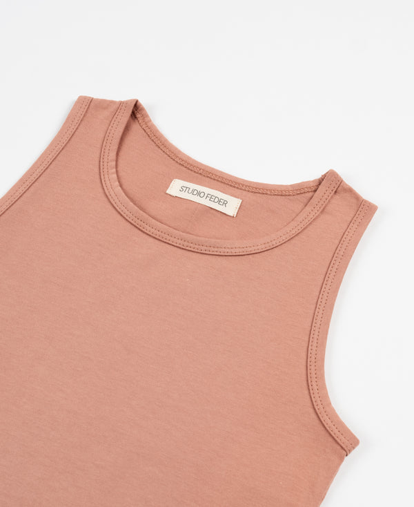 Studio Feder Tank Top Clay