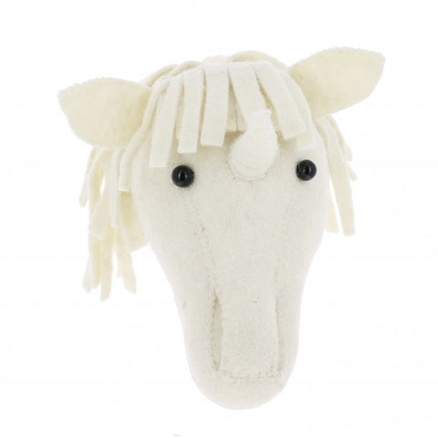 Fiona Walker Animal Head Unicorn Mini
