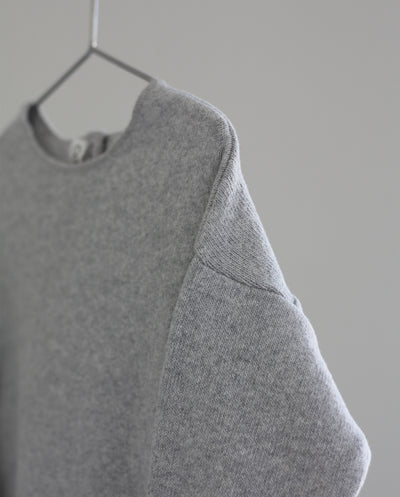 Co Label Sweater Billie Grey