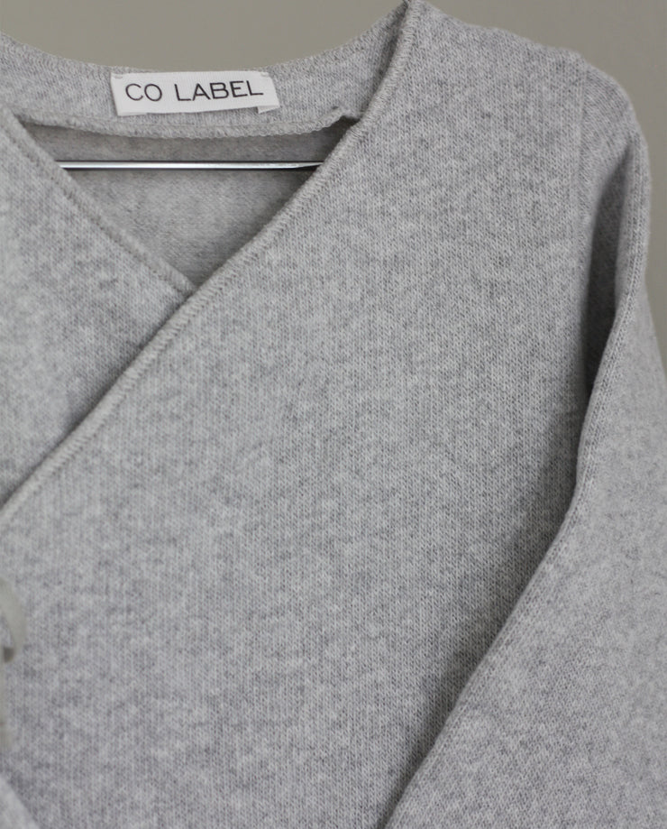 Co Label Warm Eddie Babysuit Grey Melange
