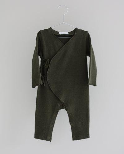Co Label Warm Eddie Babysuit Militaire