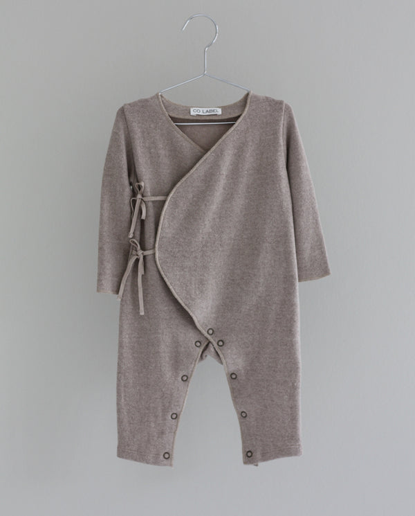 Co Label Warm Eddie Babysuit Oat