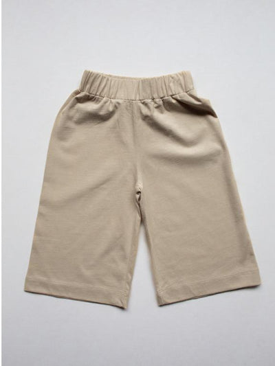 The Simple Folk Wide Leg Trouser Sand - Last one 2-3Y