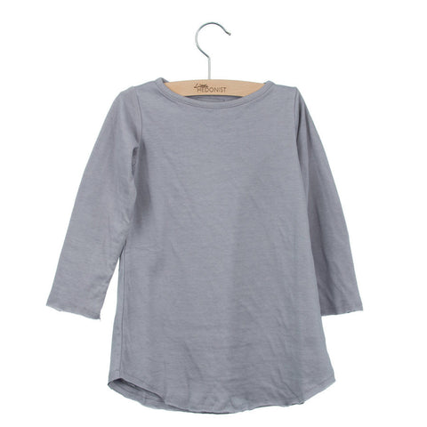 Little Hedonist Dress Victoria Lilac Grey