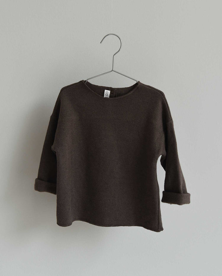 Co Label Sweater Billie Mellow Brown