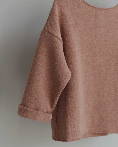 Co Label Sweater Billie Old Rose