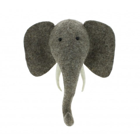 Fiona Walker Animal Head Elephant Mini