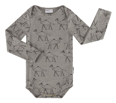Maed for mini - Goofy Camel AOP Bodysuit - Last one Newborn
