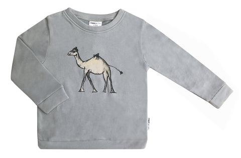 Maed for mini - Goofy Camel Sweater