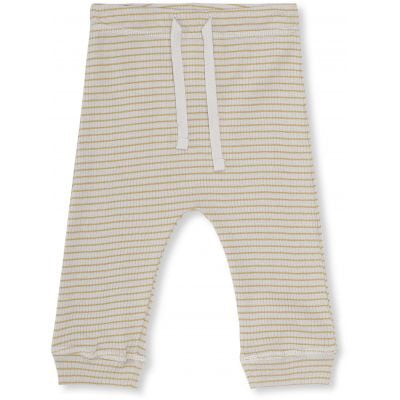 Konges Sløjd Kaya Leggings Striped Mustard/ Natural