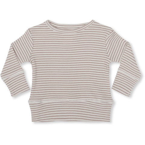 Konges Sløjd Kaya Blouse Striped Ruben Rose/ Natural - Last one 56/62