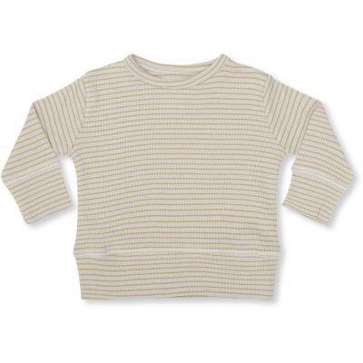 Konges Sløjd Kaya Blouse Striped Mustard/ Natural - Last one 56/62
