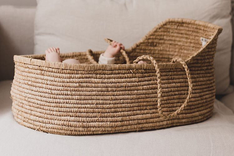 Noro Paris Moses Basket Tea