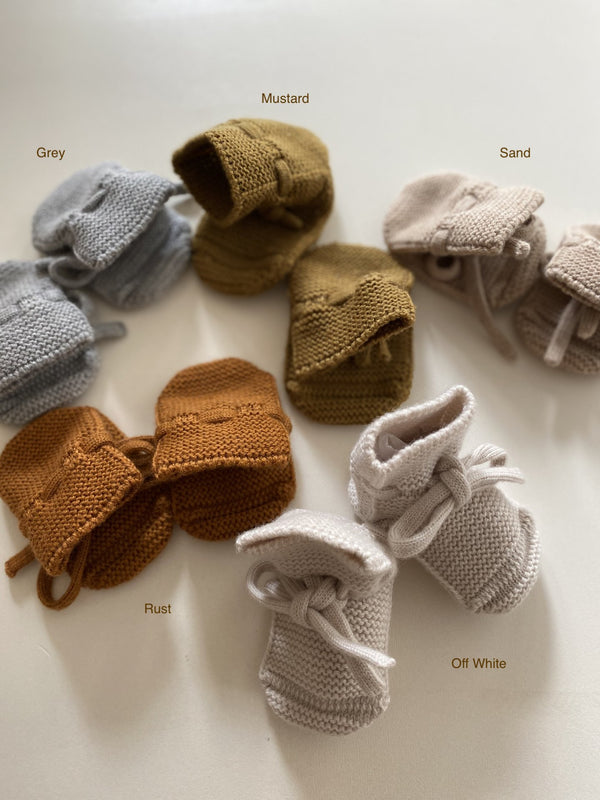 Hvid Booties (7 colors)