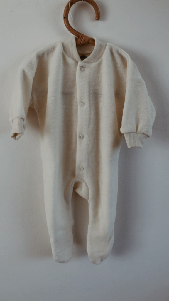 Cosilana Sleep Suit 100% Wool with feet