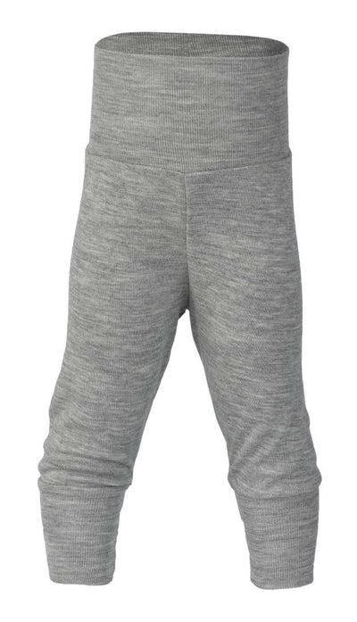 Engel Wool Baby Pants with waistband Grey