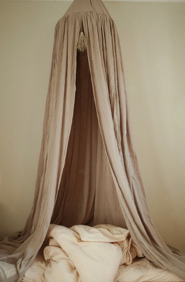 Konges Sløjd Bed Canopy Dark Clay