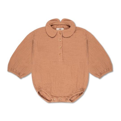 Repose AMS Woven collar suit warm caramel