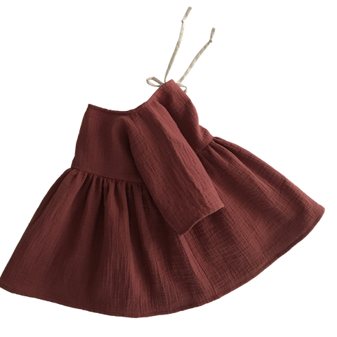 Liilu Dress Chestnut